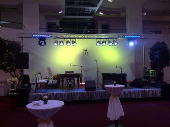 prenájom pódia na event,Pro Sound & Lighting - Stage Sound & Lighting Rental