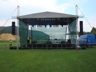 Prenájom Stage, Pódium,Pro Sound & Lighting - Stage Sound & Lighting Rental